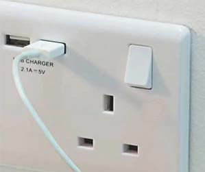 Electrician services dublin - sockets